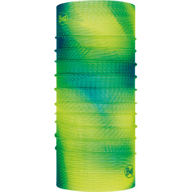 Buff Original Reflective Loop Sjaal, reflective-spiral yellow fluor